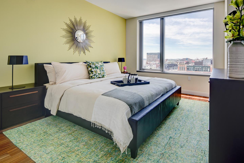 Bedroom at The Benjamin Serviced Apartments