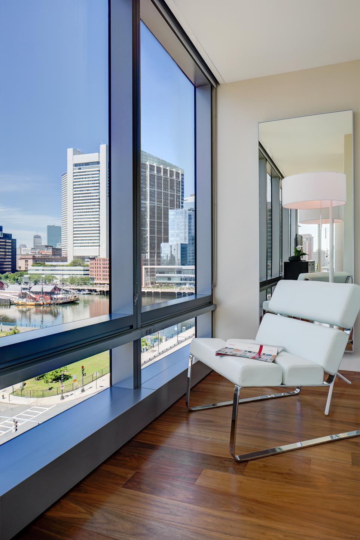 View at The Benjamin Serviced Apartments