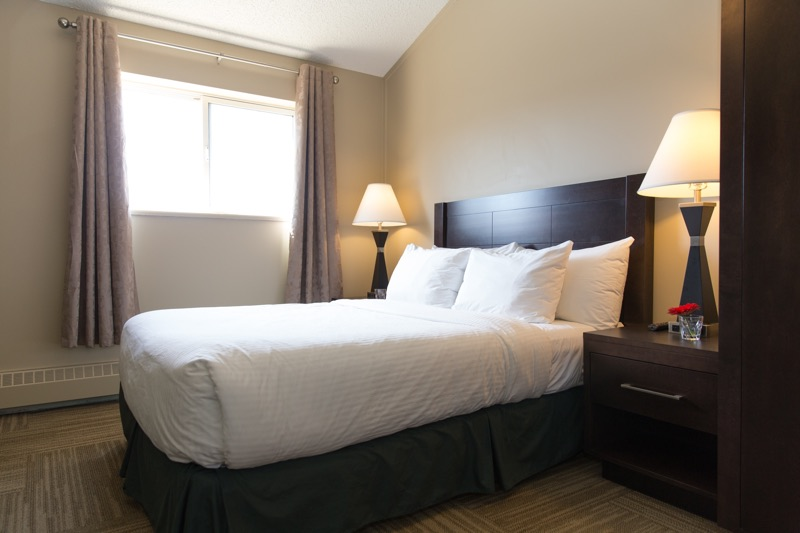 Bedroom at Capital Suites Yellowknife