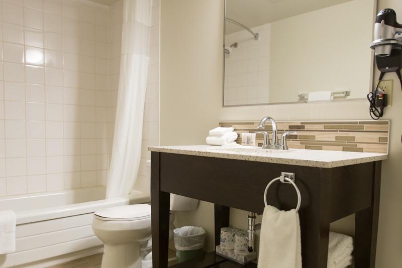 Bathroom at Capital Suites Yellowknife