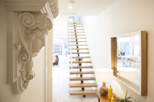 Staircase at Contempo Apartment