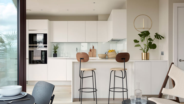 Kitchen at STAY Camden Serviced Apartments