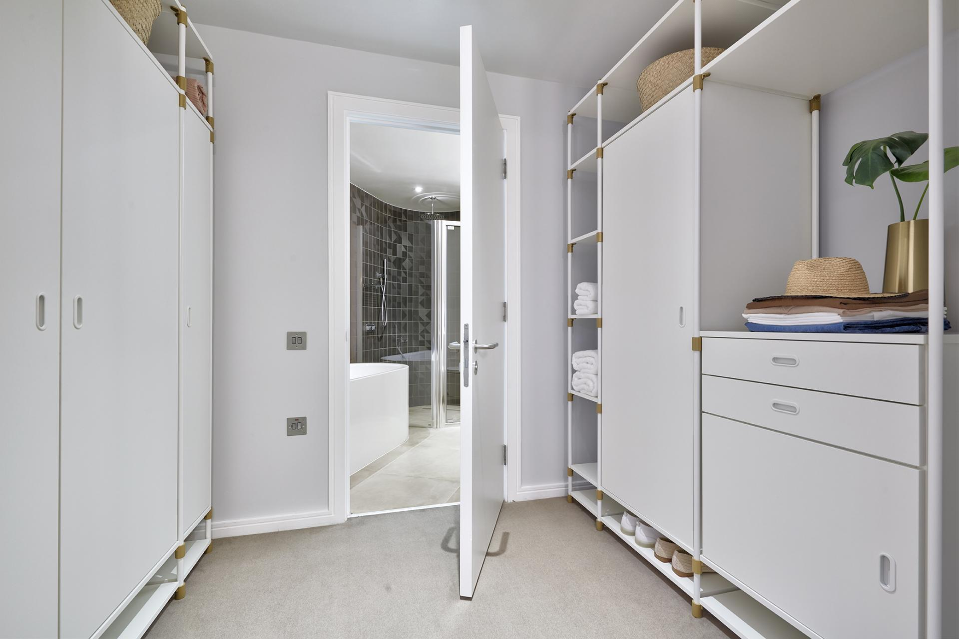 Storage at STAY Camden Serviced Apartments