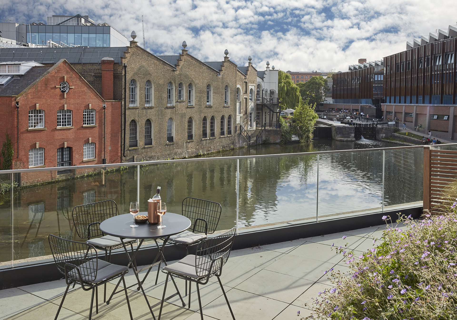 Terrace at STAY Camden Serviced Apartments