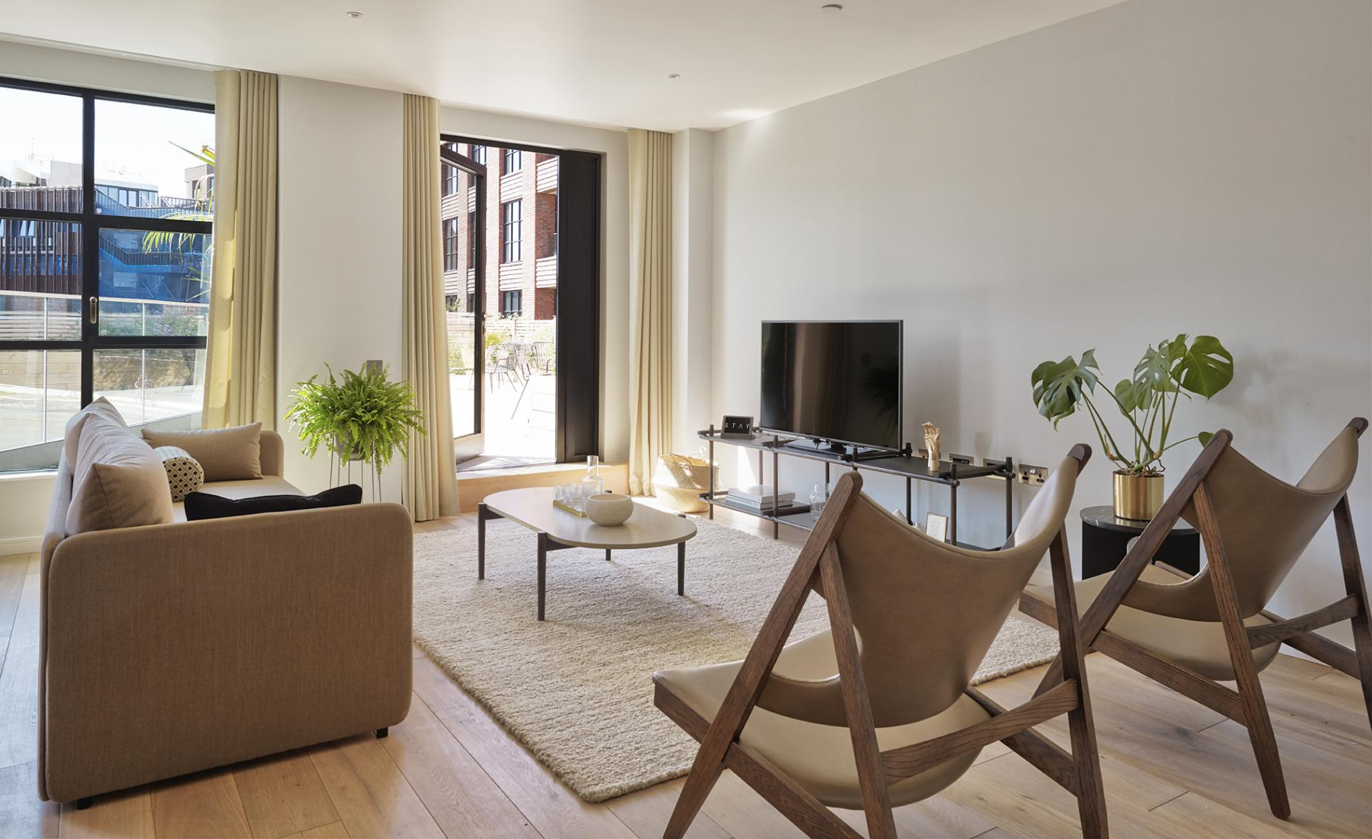 TV at STAY Camden Serviced Apartments