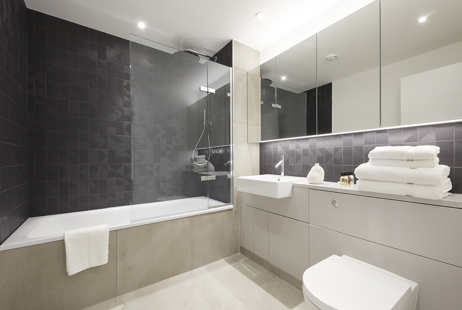 Bath at STAY Camden Serviced Apartments