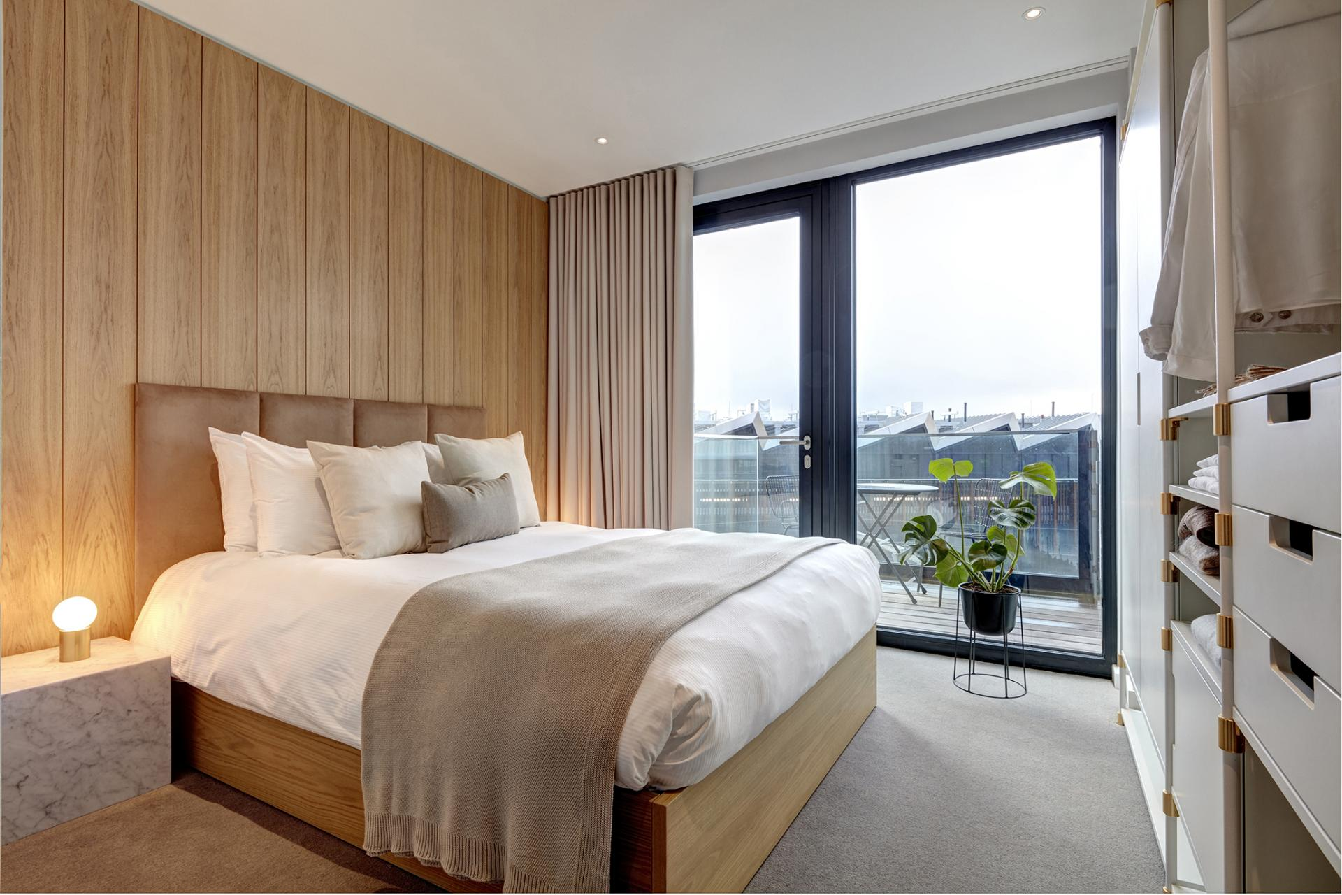 Large window at STAY Camden Serviced Apartments, Camden, London
