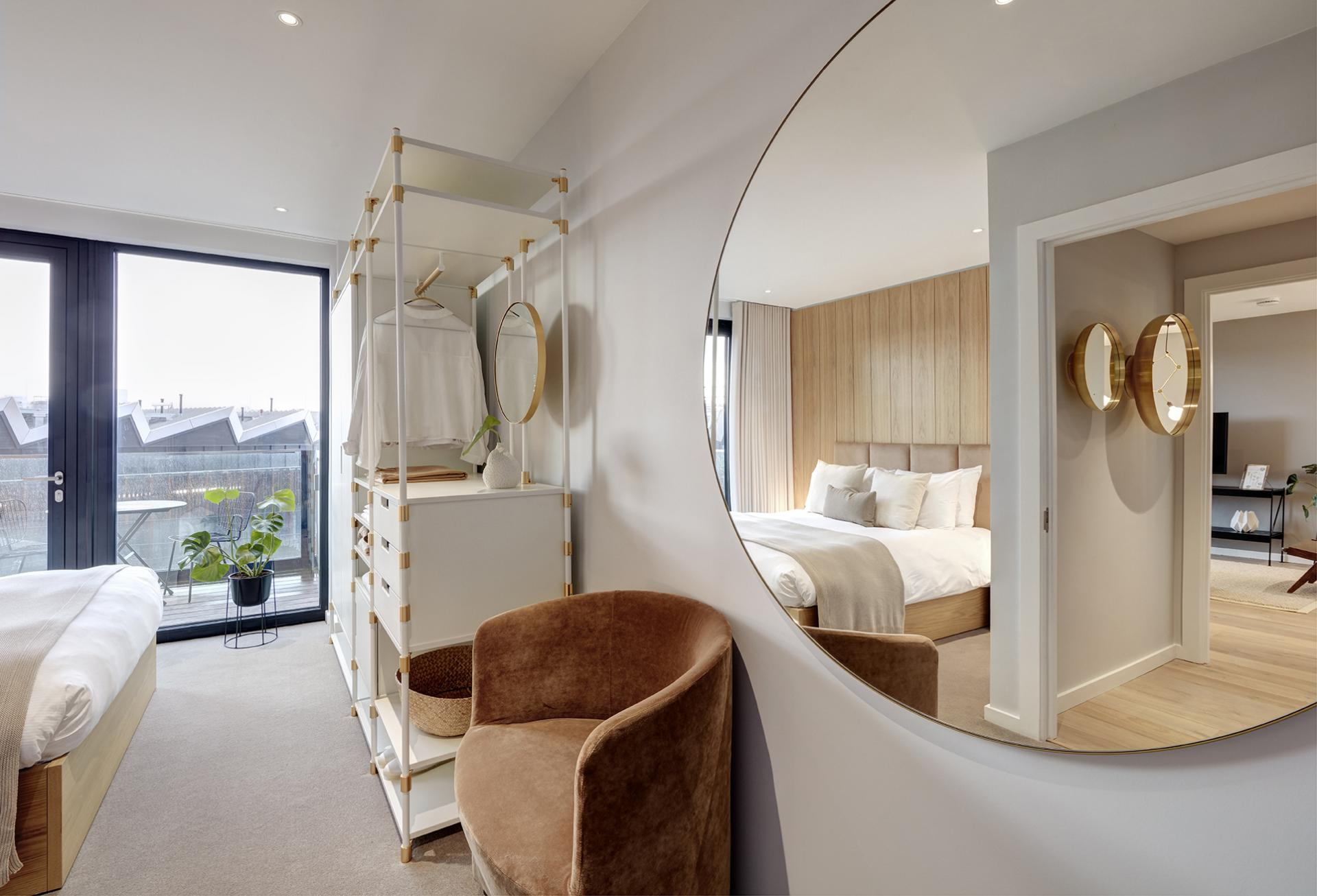 Mirror at STAY Camden Serviced Apartments, Camden, London