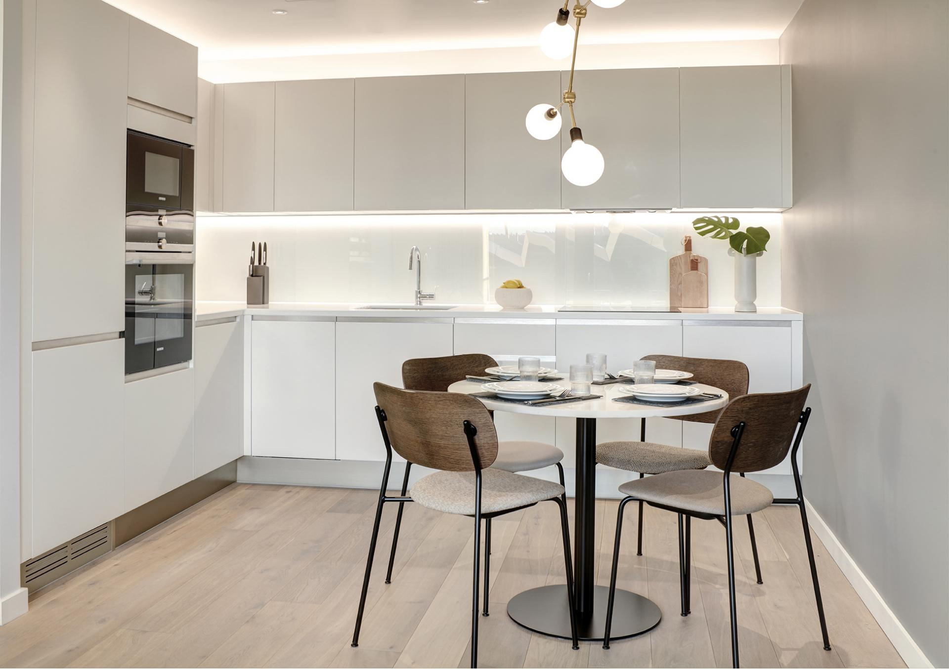 Kitchen diner at STAY Camden Serviced Apartments, Camden, London