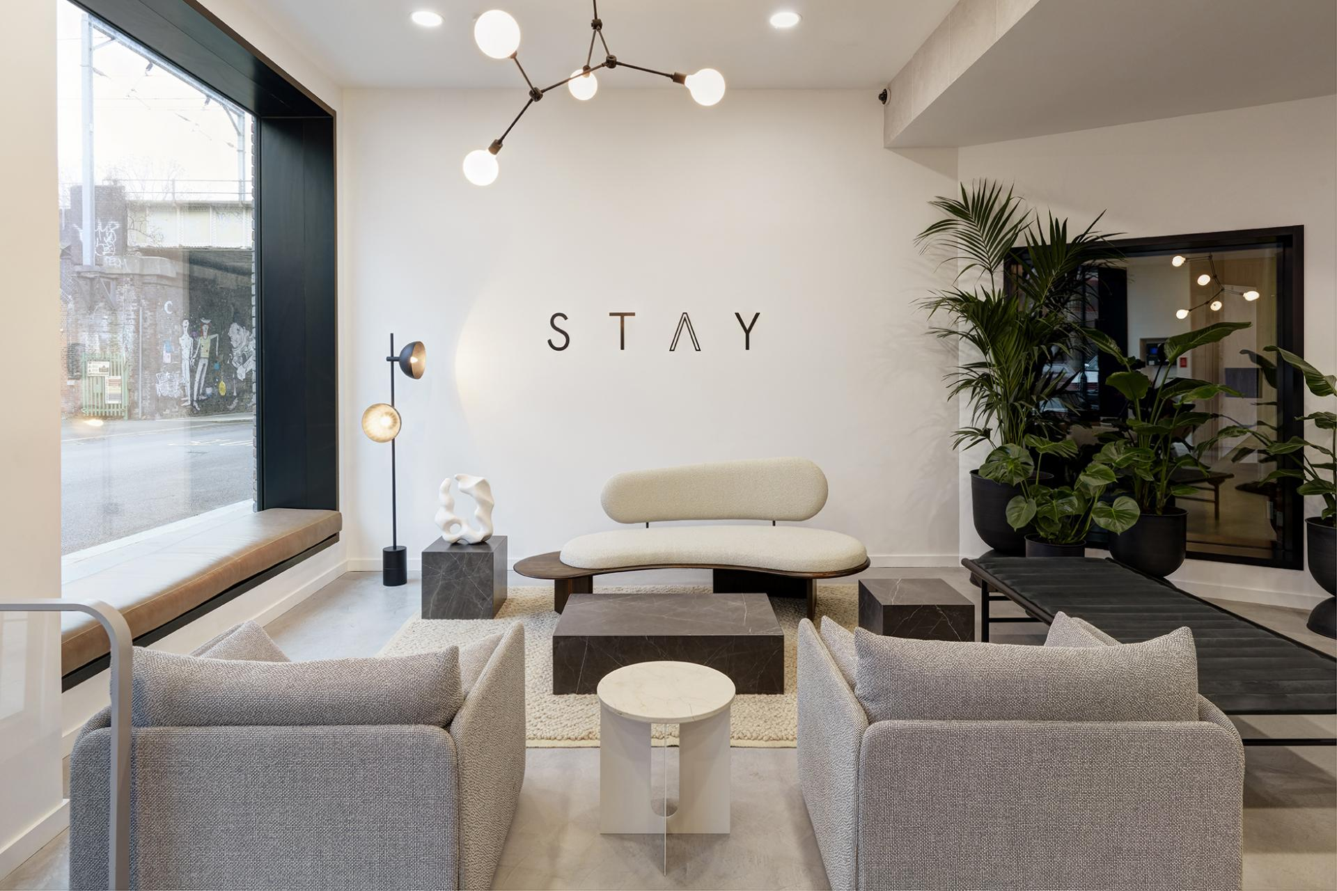 Residents lounge at STAY Camden Serviced Apartments, Camden, London