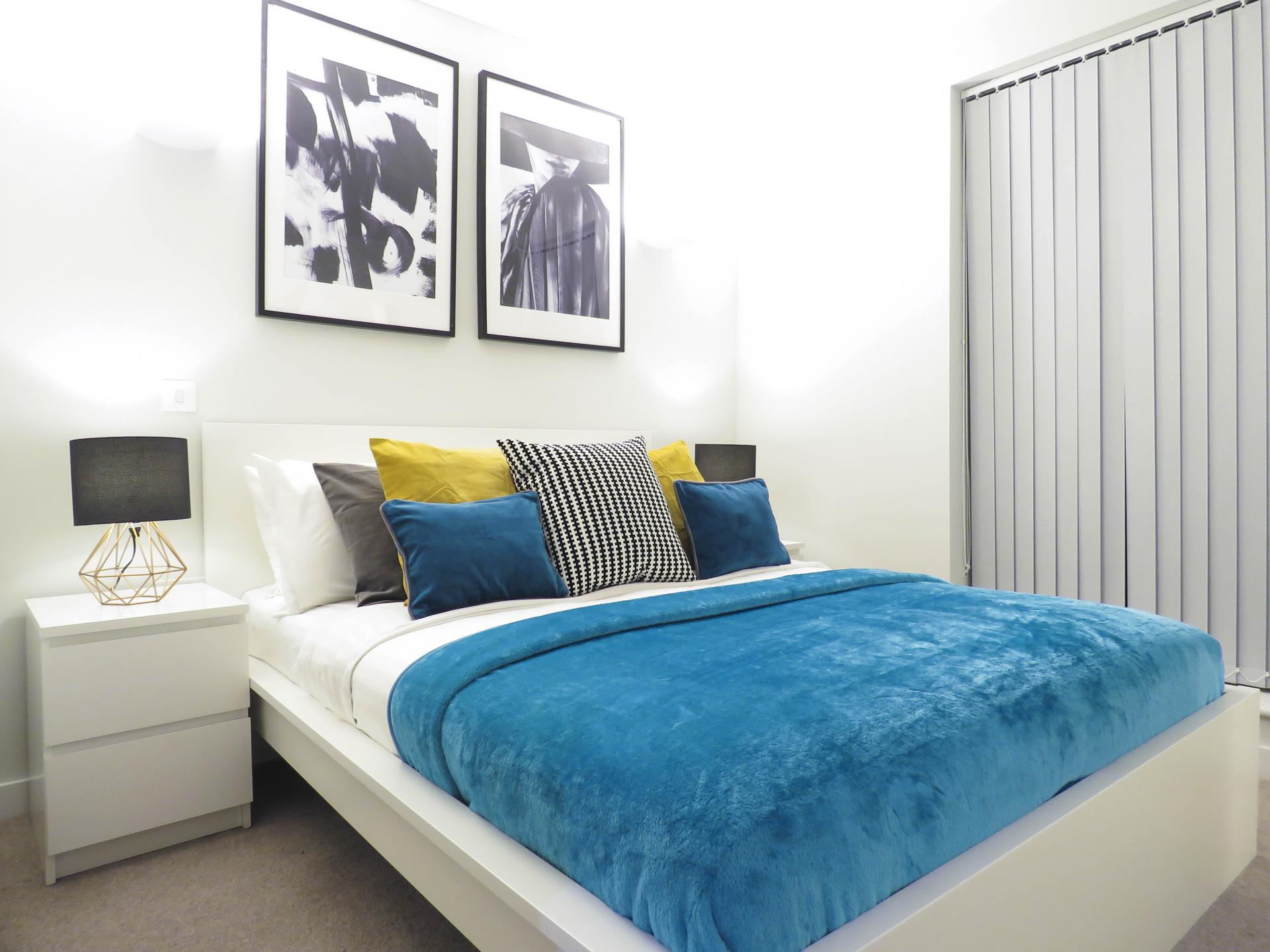 Bedroom at Jewellery Quarter Serviced Apartments