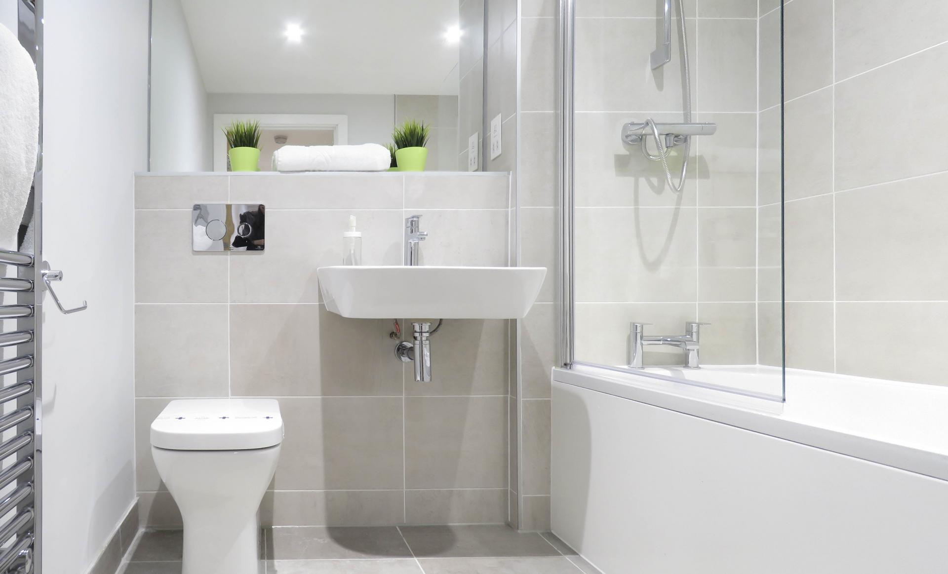 Toilet at Jewellery Quarter Serviced Apartments