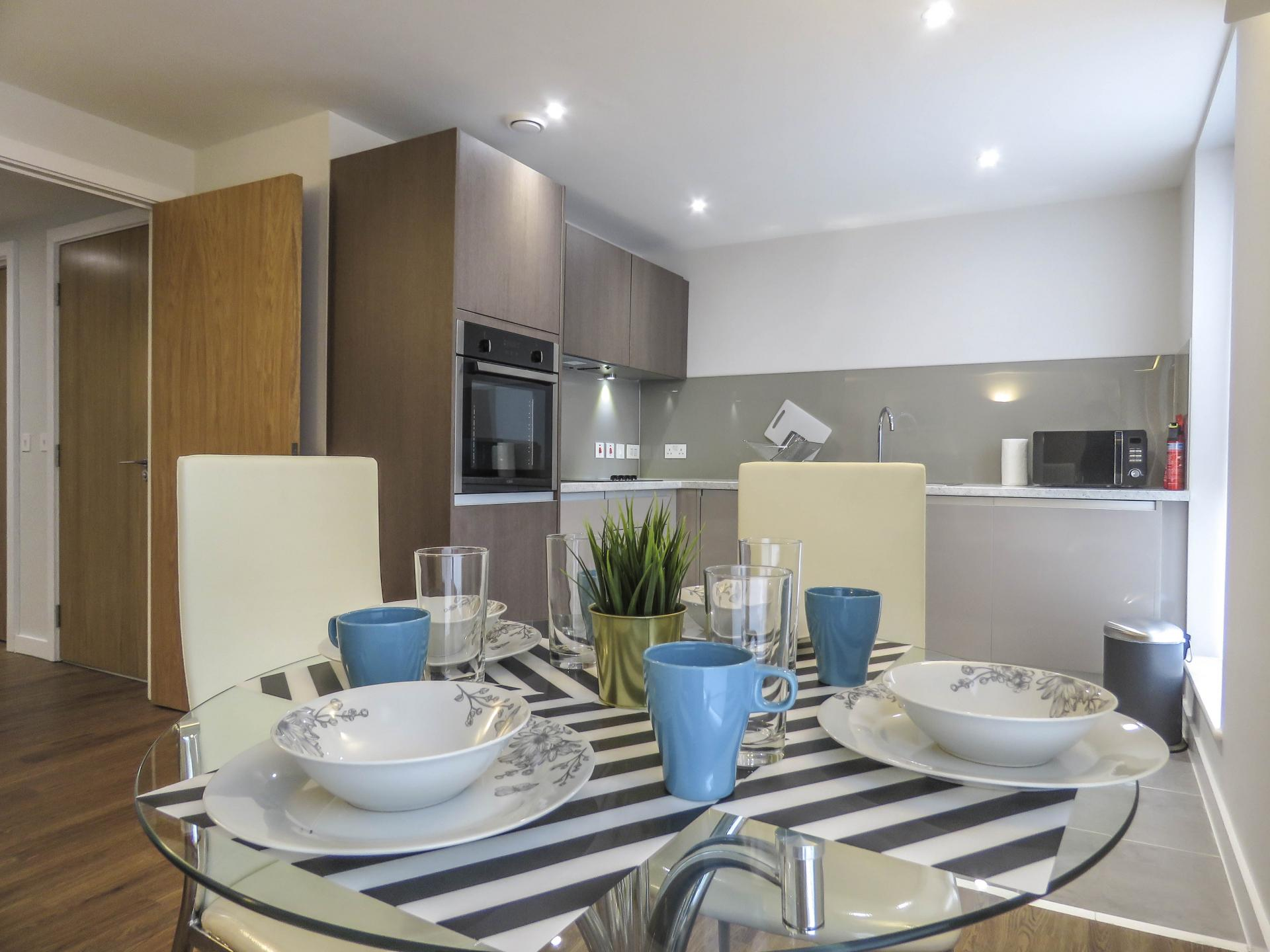 Tables at Jewellery Quarter Serviced Apartments