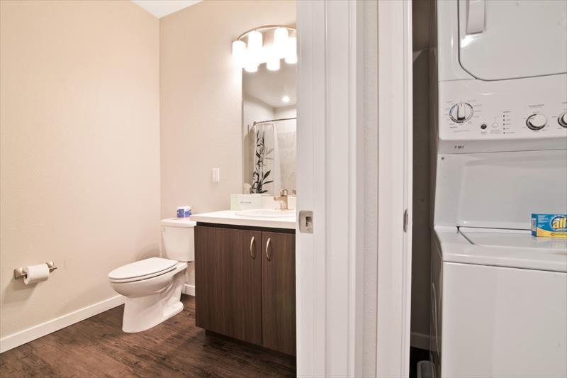 Bathroom at Railway Apartments