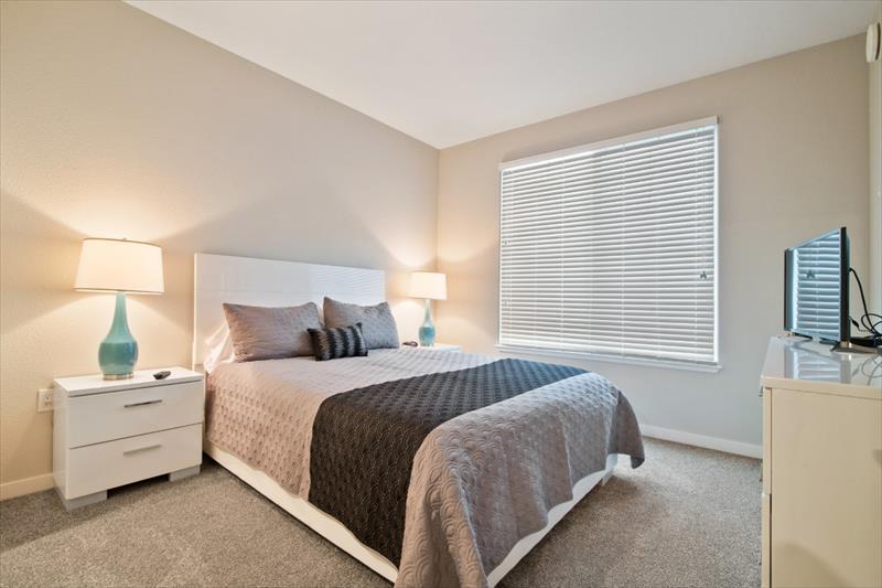 Bedroom at Railway Apartments