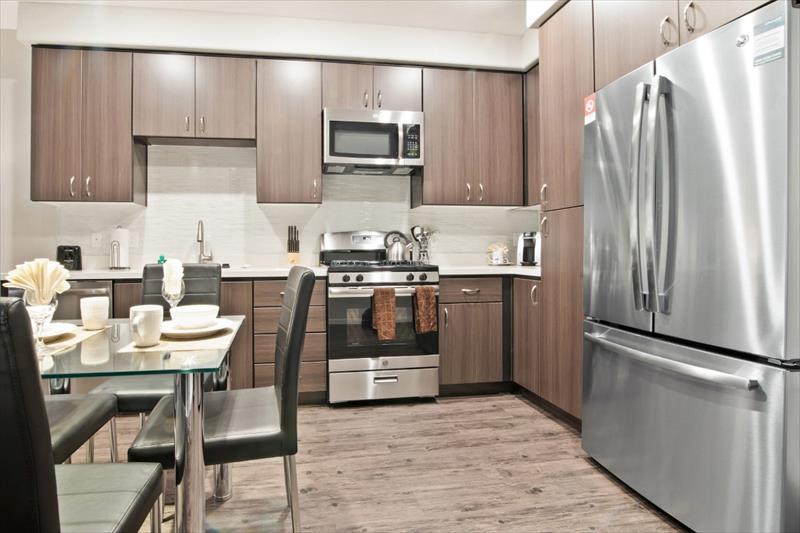 Kitchen at Railway Apartments