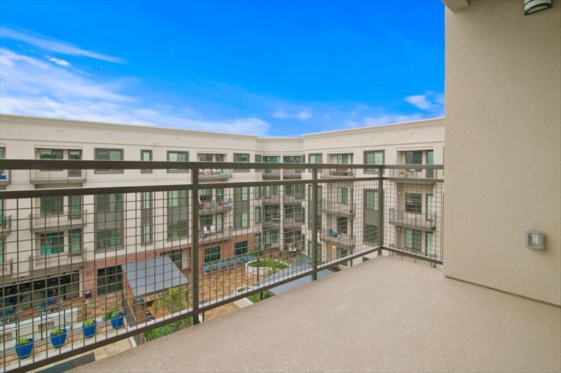 Balcony at Railway Apartments