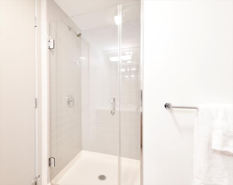 Shower at 315 on A Apartments