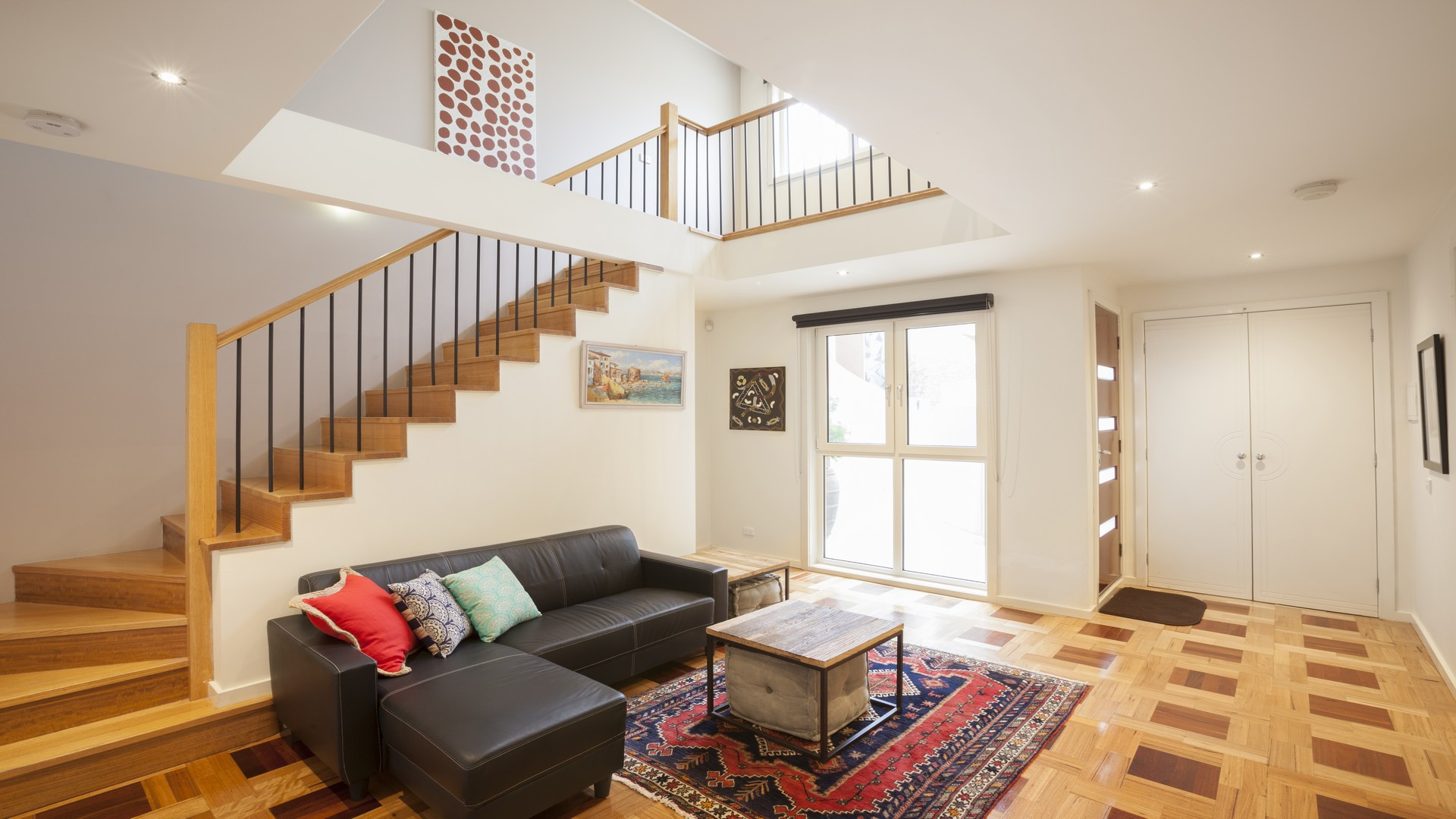 Sofa at Elwood Hideaway Apartment