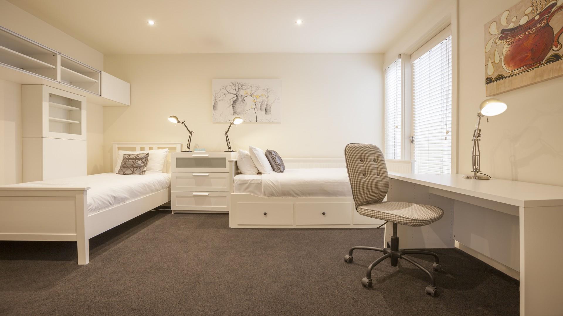 Desk at Elwood Hideaway Apartment
