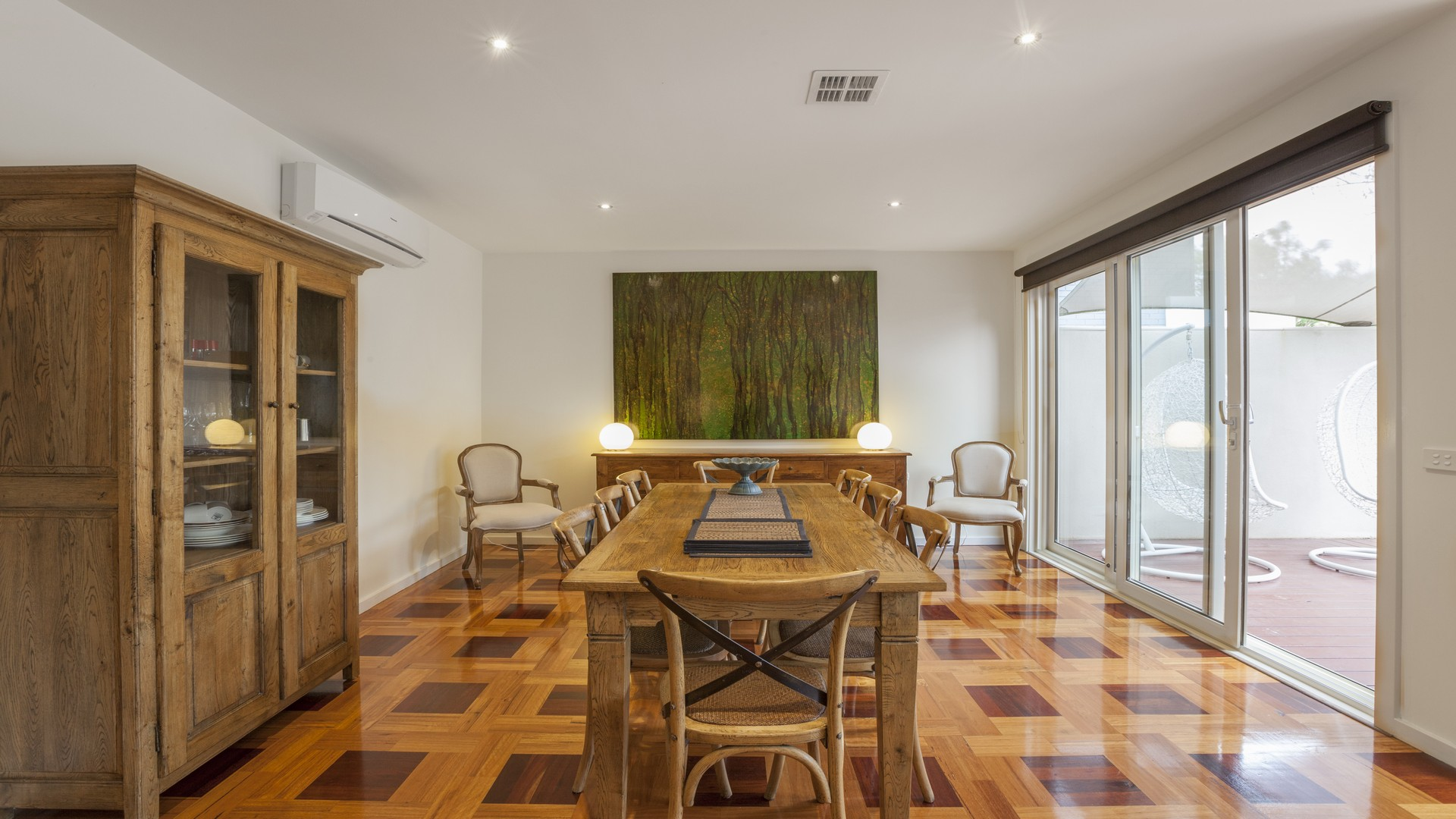 Dining table at Elwood Hideaway Apartment