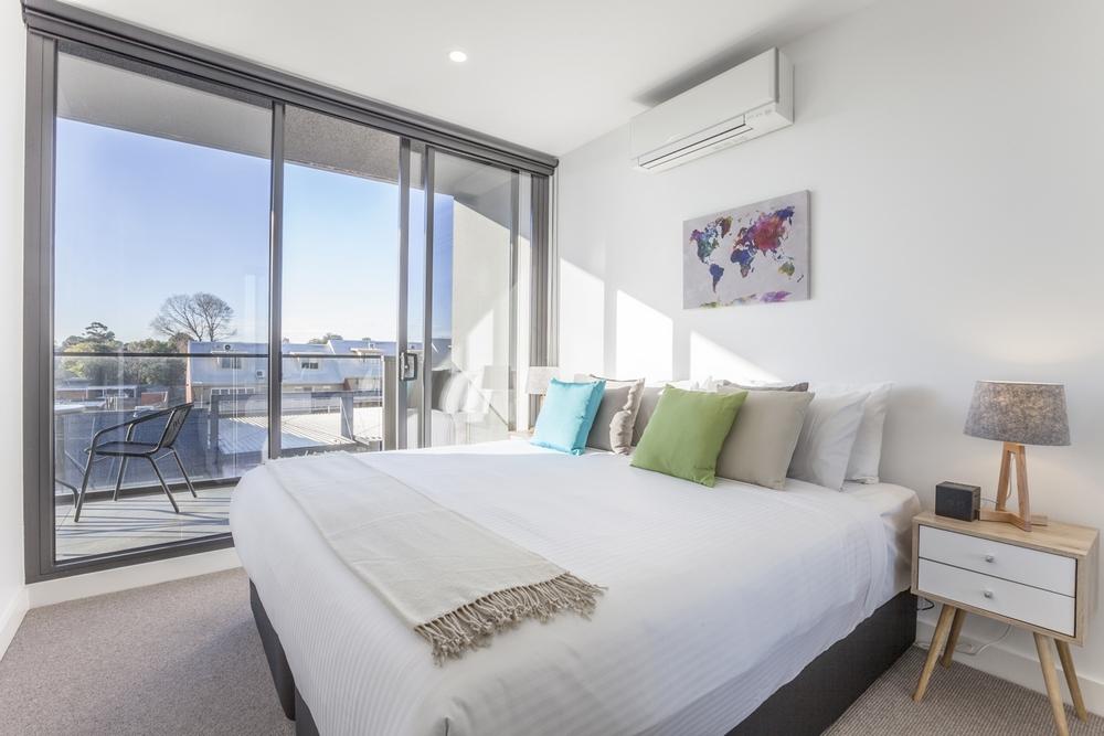 Bedroom at Hampton Hub Apartment