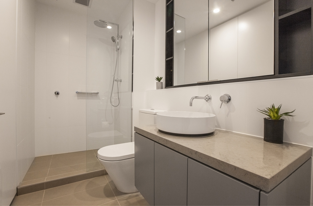 Bathroom at Hampton Hub Apartment