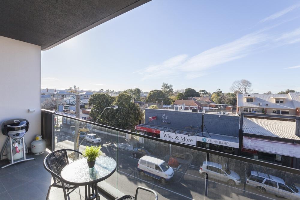 Balcony view at Hampton Hub Apartment