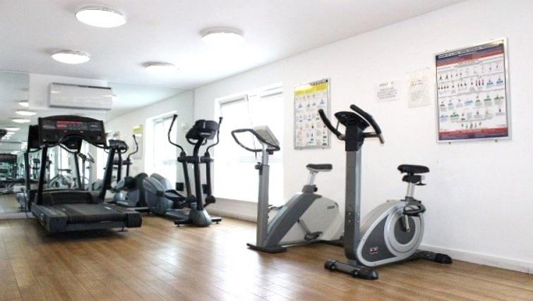 Gym at the Cotels Centro Apartments