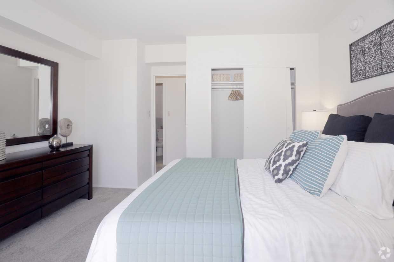Bedroom at Park La Brea Apartment