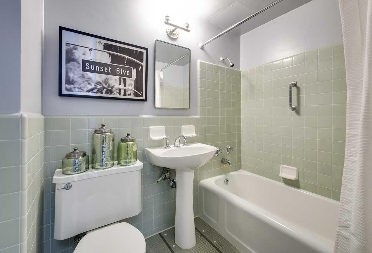 Bathroom at Park La Brea Apartment