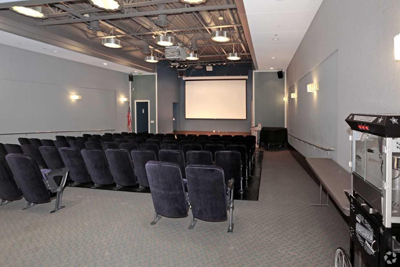 Movie theatre at Park La Brea Apartment