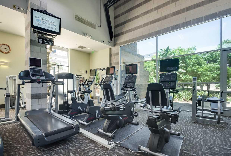 Gym at Park La Brea Apartment