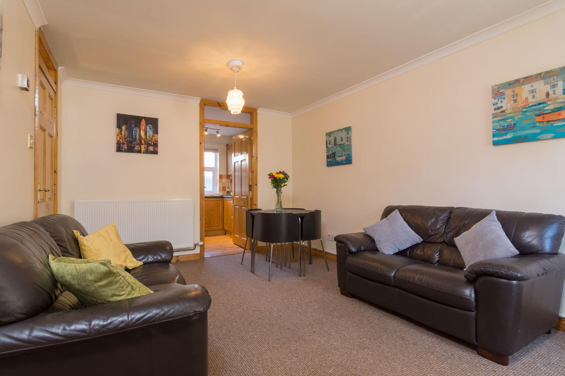 Sofas at Ashburne Place Apartment