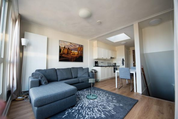 Bright living area at Best Western Hotel Groningen Centre