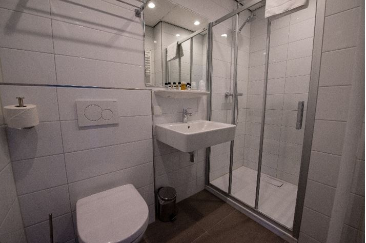 Bathroom at Best Western Hotel Groningen Centre