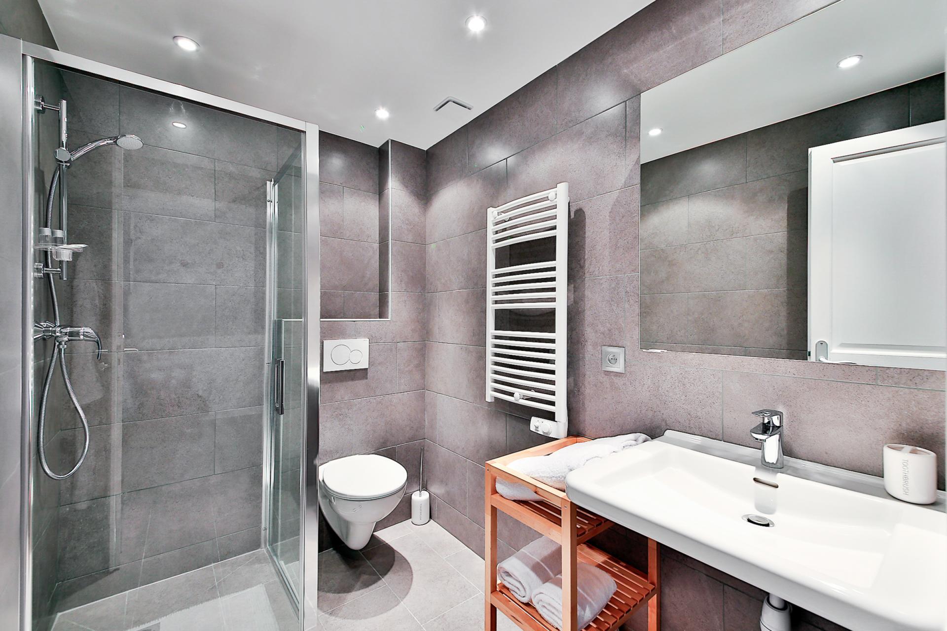 Bathroom at Saint Denis Apartment