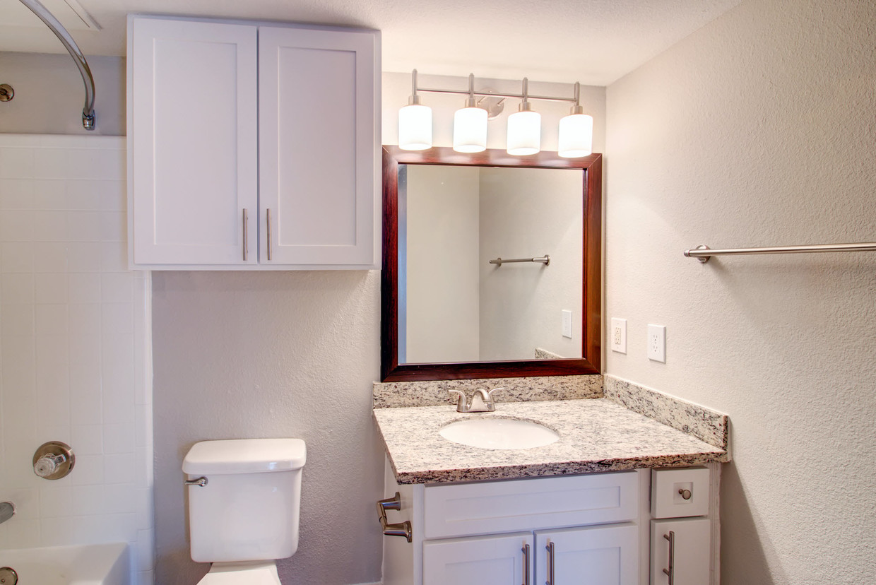 Bathroom IMT at the Medical Center Apartment
