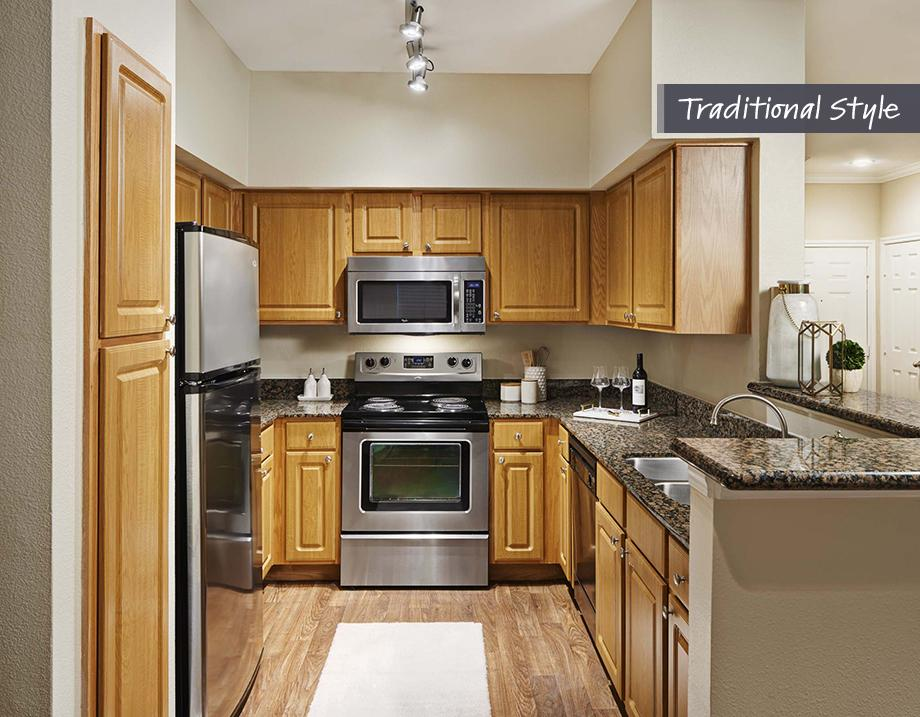 Kitchen at Camden Midtown Apartment