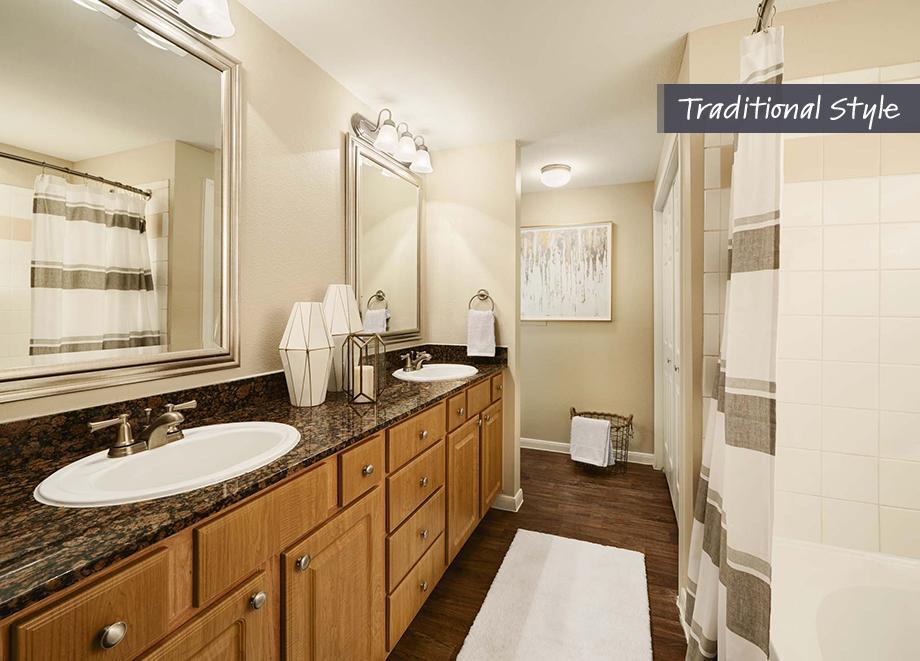 Bathroom at Camden Midtown Apartment