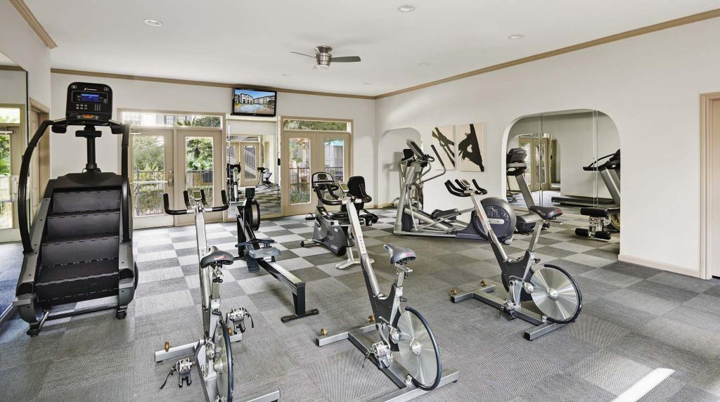 Fitness Centre at Camden Midtown Apartment