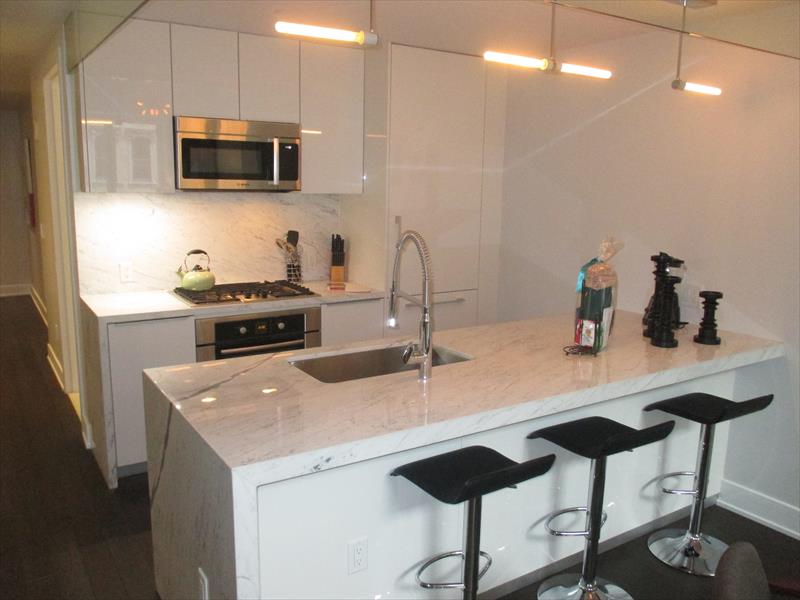 Kitchen at Franklin Place Apartments