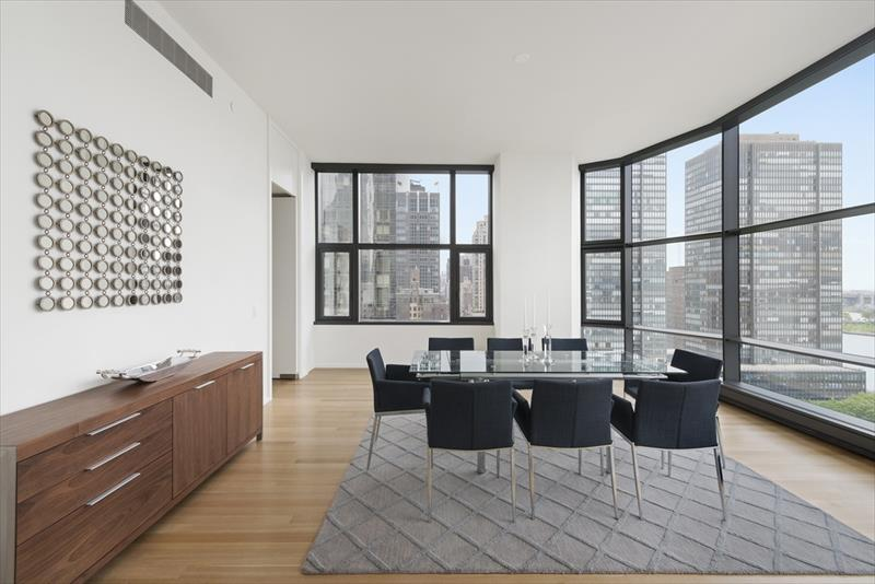 Dining area at United Nations plaza Apartments