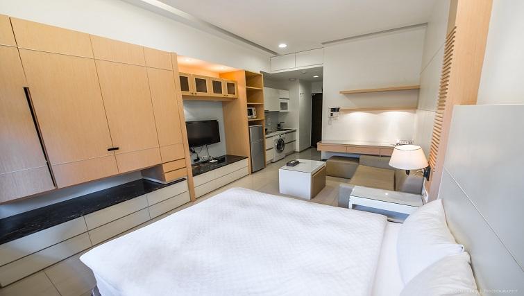 Bedroom at CK Serviced Apartments