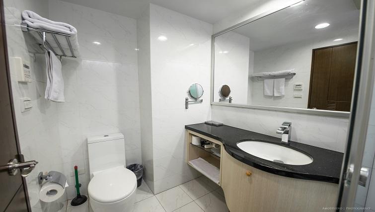 Bathroom at CK Serviced Apartments