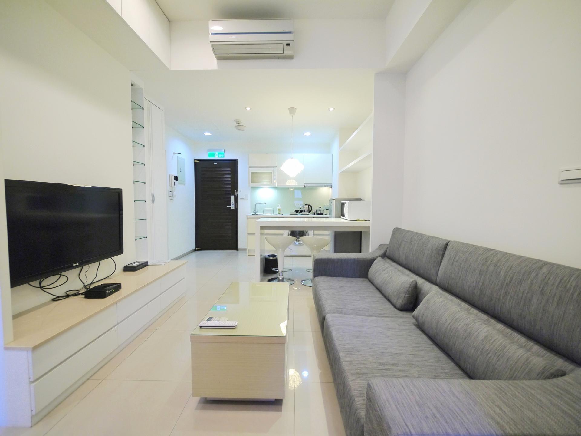 TV at CK Serviced Apartments