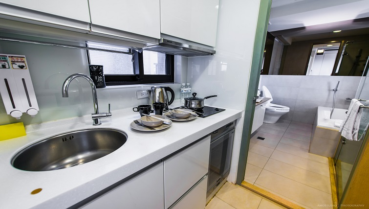 Sink at CK Serviced Apartments