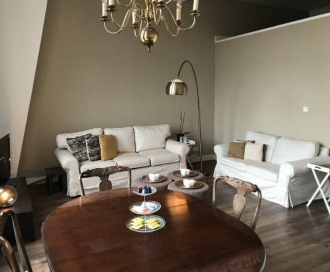 Living room at Arnhem Apartment