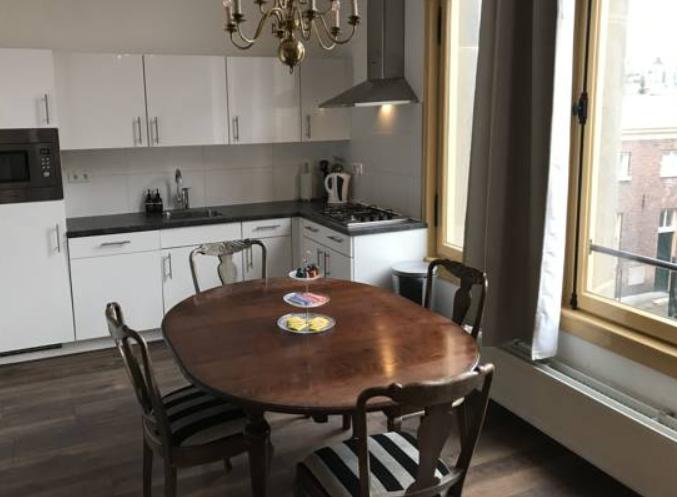 Kitchen at Arnhem Apartment
