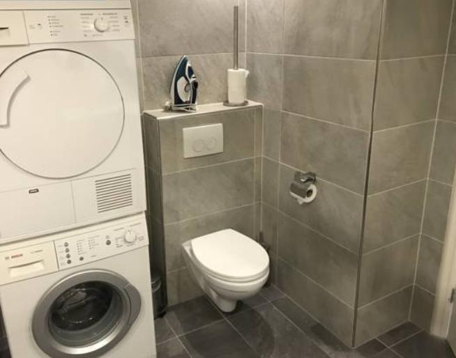 Toilet at Arnhem Apartment